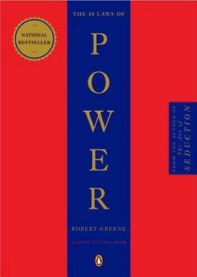The 48 Laws of Power by Robert Greene Paperback Social Philosophy Brand new