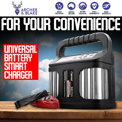 Boxo BBC15A 9 Stage Universal Battery Smart Charger Car Starter 2V Output Socket
