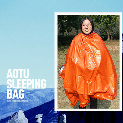 First-Aid Survival Emergency Tent Blanket Sleep Bag Camping Shelter Outdoor OR