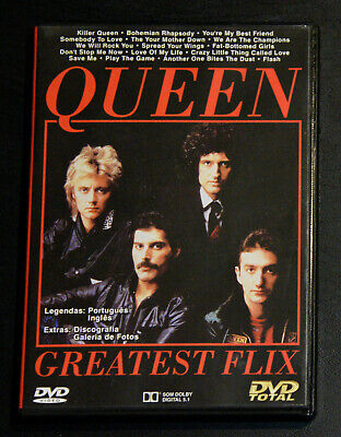 Queen Greatest Flix Portugal Dvd Like New Very Rare!!!
