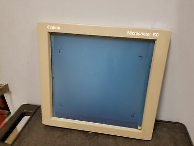Canon Microprinter 60 Front Screen Panel Display