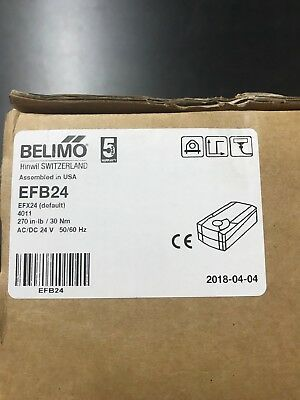 Belimo EFB24 Spring Return HVAC Damper Actuator 24V NEW IN BOX