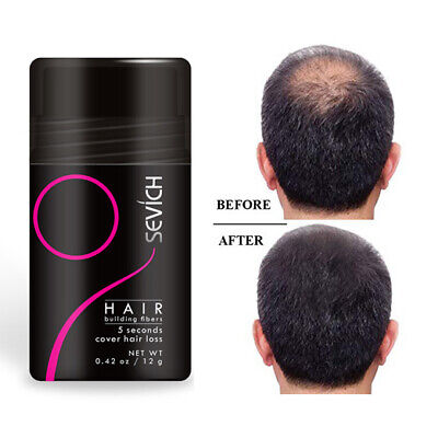 Sevich Hair Building Fibers Color Powder Conceal Hair Thinning Partial Loss Hair