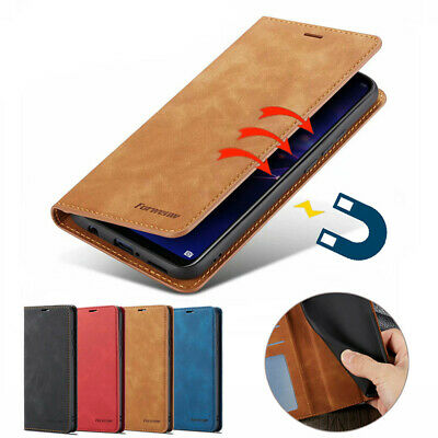 Magnetic Wallet Case Leather Flip Pouch Cover for iPhone XR XS Max X 6S 7 8 Plus