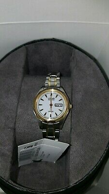 NEW Citizen Eco-Drive EW3144-51A Women's Sports Two-Tone WR100 Day & Date Watch