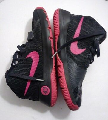 2cd9d86cd90e Nike Youth Kevin Durant KD Trey 5 III Basketball Shoes Black Pink - Size 6Y