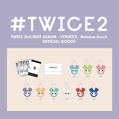 TWICE #TWICE2 Release Event Official Goods Merchandise Japan