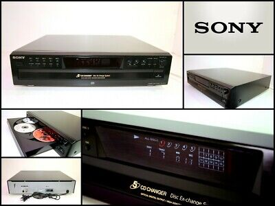 SONY CDP-CE275 Five Disc Carousel CD Changer Player