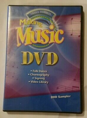Silver Burdett Making Music Dvd Folk Choreography Signing Video Library Like New