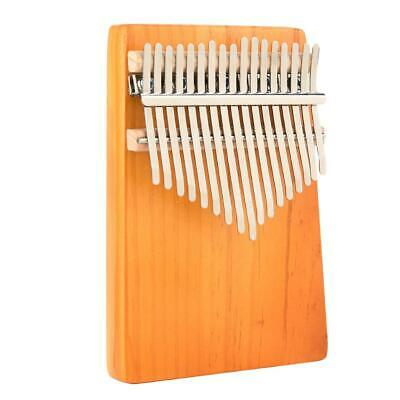 17 Key Kalimba Thumb Piano Finger Mbira Mahogany Keyboard Music Instrument