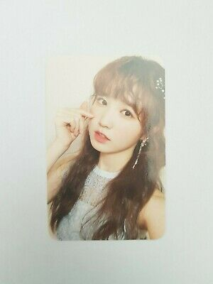 "K-POP IZ ONE Photobook ""Secret Time"" Official Limited Choi YENA Photocard"