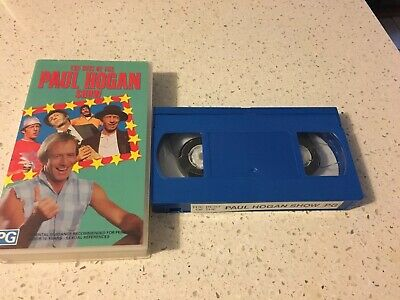 The Best Of The Paul Hogan Show - John Cornell - Vhs Video