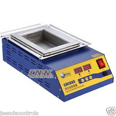 Digital Leaded Steel Soldering Pot CM-150S Square 150x100x45 900W