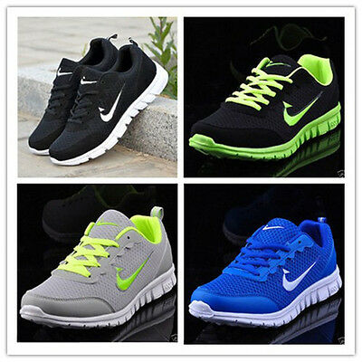 New Mens And Boys, Sports Trainers Running Gym Sizes Uk3-11.5 Uk