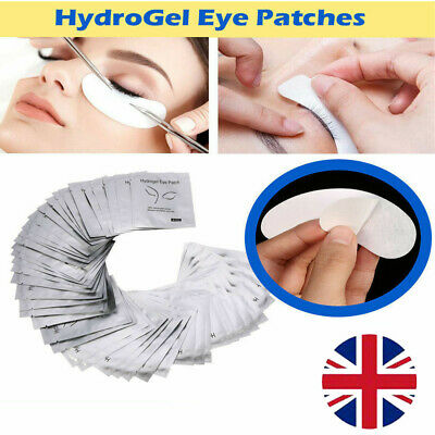 Under Eye Gel Pads Lint Free Patches Make Up Tools Salon Eyelash Lash Extensions