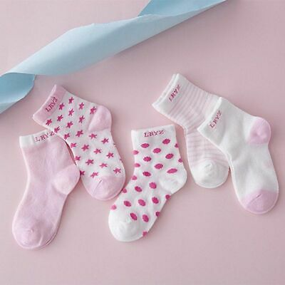 5 Pairs Unisex Winter Baby Toddler Newborn Infant Soft Comfortable Ankle Socks