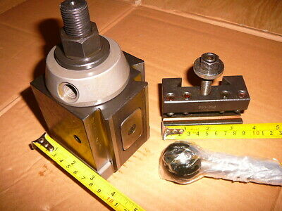 Chinzoa 250-300 Tool Post with Quick Change Tool holders for Lathe