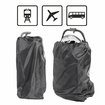 Pushchair Pram Buggy Gate Check Travel Bag Umbrella Stroller Waterproof Cover