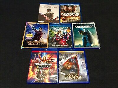 Captain America The Winter Soldier & Guardians of the Galaxy Blu-ray SLIPCOVERS