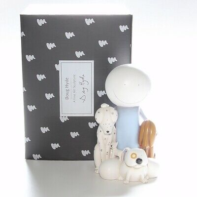 Doug Hyde Sculpture, The Usual Suspects, Boxed With Certificate, Ltd Edition