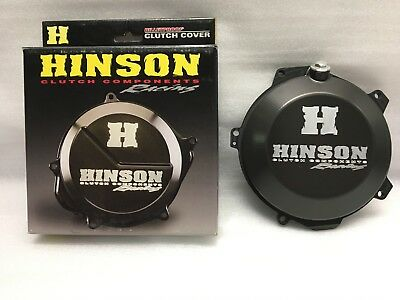 Hinson Racing Clutch Cover Billetproof Black C477 Coperchio Frizione Nero Ktm