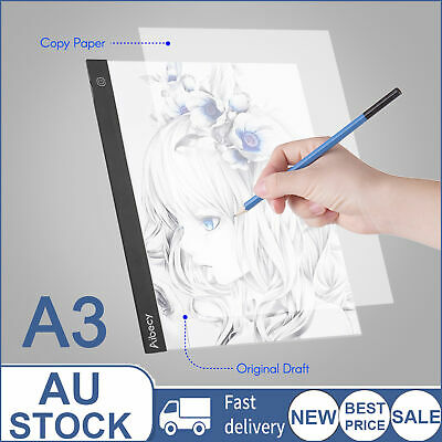 Aibecy A3 LED Light Box Drawing Tracer Copy Board Table Pad Copyboard T7J7