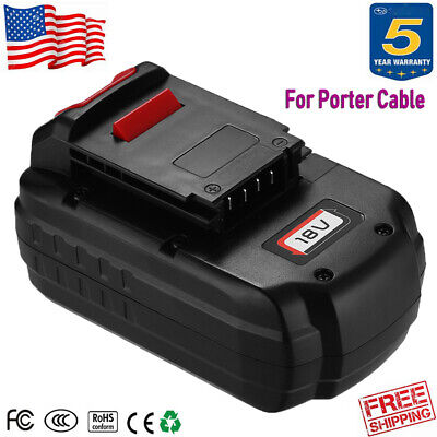 For PORTER-CABLE PC18B Ni-Cd 18V Battery PC186CS PC1801D 18 Volt Cordless Tools