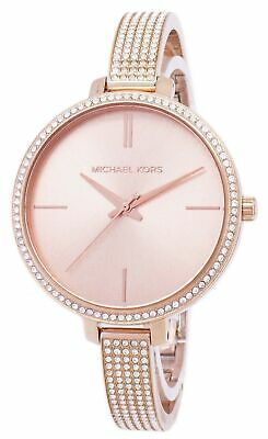 5641b0d9549a NWT MK3785 WOMENS Michael Kors Jaryn Rose Gold Watch Pave Bangle ...