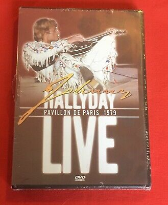 Johnny Hallyday Live Pavillon Paris 1979 Version Francaise Neuf Dvd