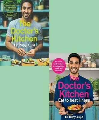 The Doctor's Kitchen & The Doctor's Kitchen Eat to Beat Illness by Dr Rupy Aujla