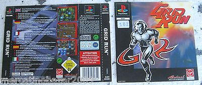 Grid Run (1996) Playstation 1 Cover, No Disco