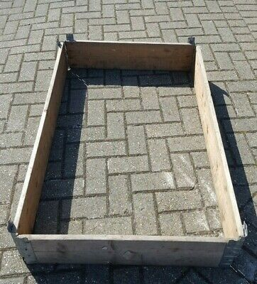 Old Used Raised Bed Euro Pallet Sides Collar 800Mm 1200Mm 190Mm Woodford Bridge