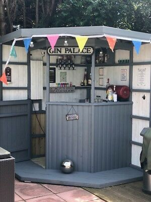 Corner Garden Bar - Party - Summer - Made To Order - Man Cave