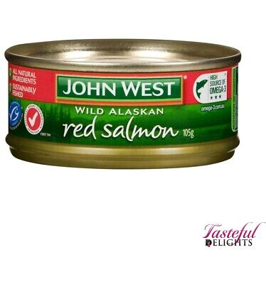 John West Red Salmon 105g