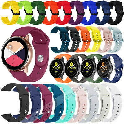 Soft Silicone Strap for Samsung Galaxy Active 42mm Gear S2 Classic/Sport Band