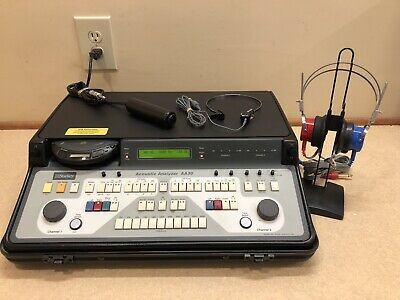 Starkey AA30, 2 Channel Portable Audiometer w/ Current Calibration Certificate