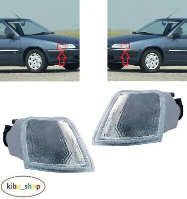 For Citroen Xantia 1993 - 1997 New Front Indicator Repeaters Pair Left + Right