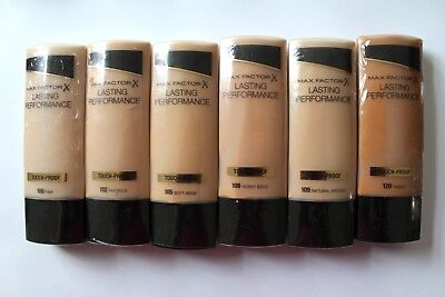 Max Factor Lasting Performance Touch Proof Foundation 35ml Please Choose Shade:
