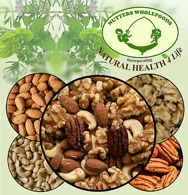 Best Mixed Whole Nuts - Walnuts, Almonds, Cashews, Pecans - Fresh Nuts