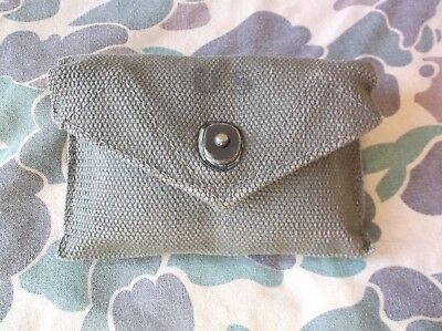 WW2 US Military First Aid Pouch and Field Dressing 1942