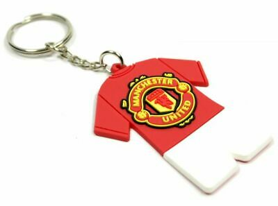 Manchester United FC Crest Kit PVC Keyring OFFICIAL LICENSED MERCHANDISE GIFT