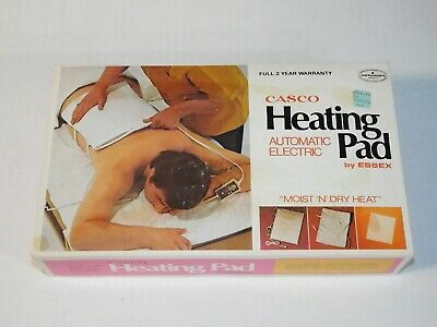 NOS Vintage Casco HPA-34 Heating Pad Automatic Electric House Body Pain Recovery