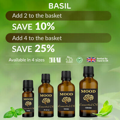 Basil Essential Oil Natural Aromatherapy Essential Oils