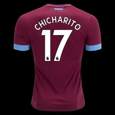 on sale 8eb1a bddf7 CHICHARITO WEST HAM UNITED Soccer Red Home jersey