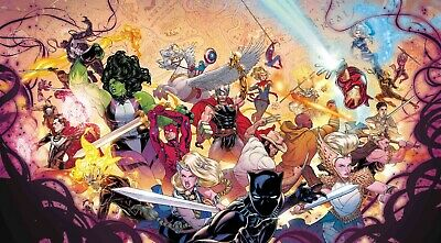 The War of the Realms # 1 Dauterman Wraparound Variant NM