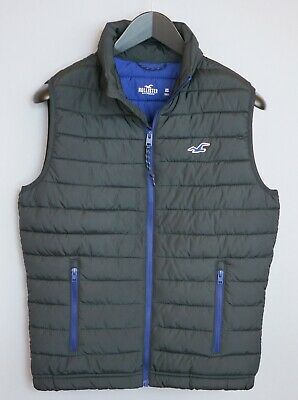 Men Hollister Gilet Bodywarmer Casual Warm Windproof XS ZGA845
