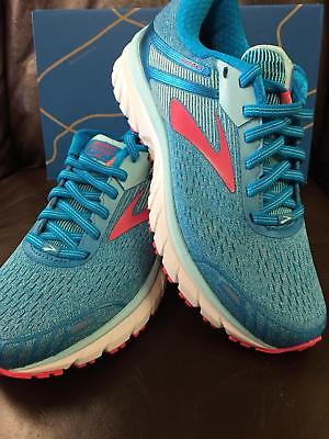 028a1f5f446a5 BRAND NEW IN Box! Brooks Adrenaline Gts 18 Womens Running Shoes Blue ...
