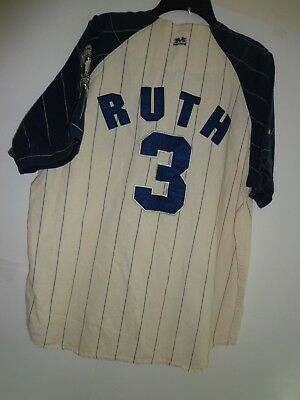 7fd663ceddf Vintage Mirage Cooperstown Collection NY Yankees Babe Ruth #3 MLB Large