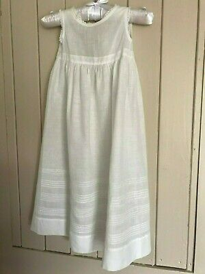 Vintage Christening gown petticoat dolls dress