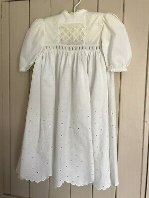 Vintage Christening gown dolls dress